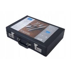 CURVER POJEMNIK NA ODPADY 100L CZARNY/CZERWONA POKRYWA NA KÓŁKACH