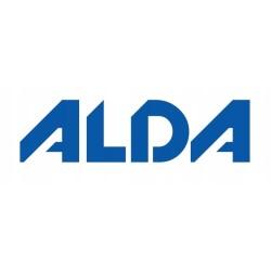 VICTORIA, Serwis obiadowy komplet talerzy dla 6 osób 18 elementów - Lubiana biała porcelana