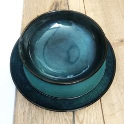 Zestaw 2 foteli CORFU DUO SET RATTAN, grafitowe - Curver Keter