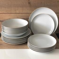 Noże w bloku ONYKS z ostrzałką ESSENTIAL 1023811 - Gerpol