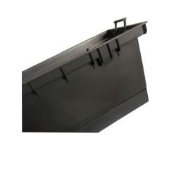Kieliszek koktajlowy 420ml kolorowy na stopce - Glasmark